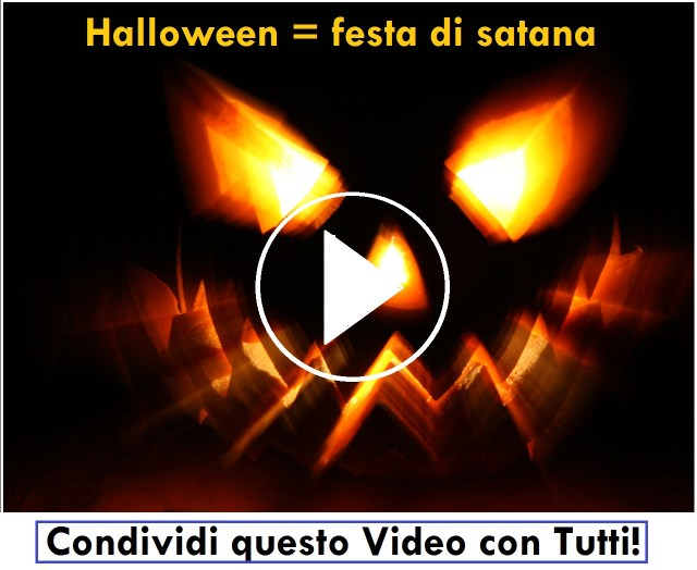 video intervista: halloween festa satanica