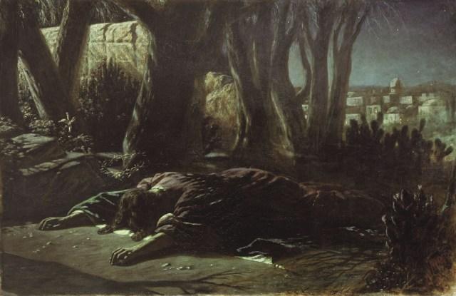 gestsemani Gesù nell'orto degli ulivi
