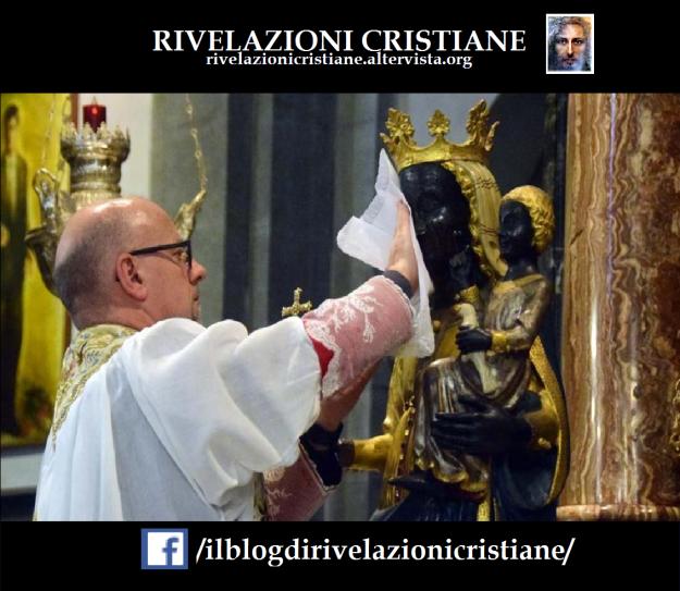 miracolo statua madonna oropa basilica biella