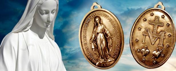 medaglia miracolosa santa caterina labouré apparizioni di rue du bac parigi