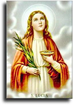 13 Dicembre - Santa Lucia