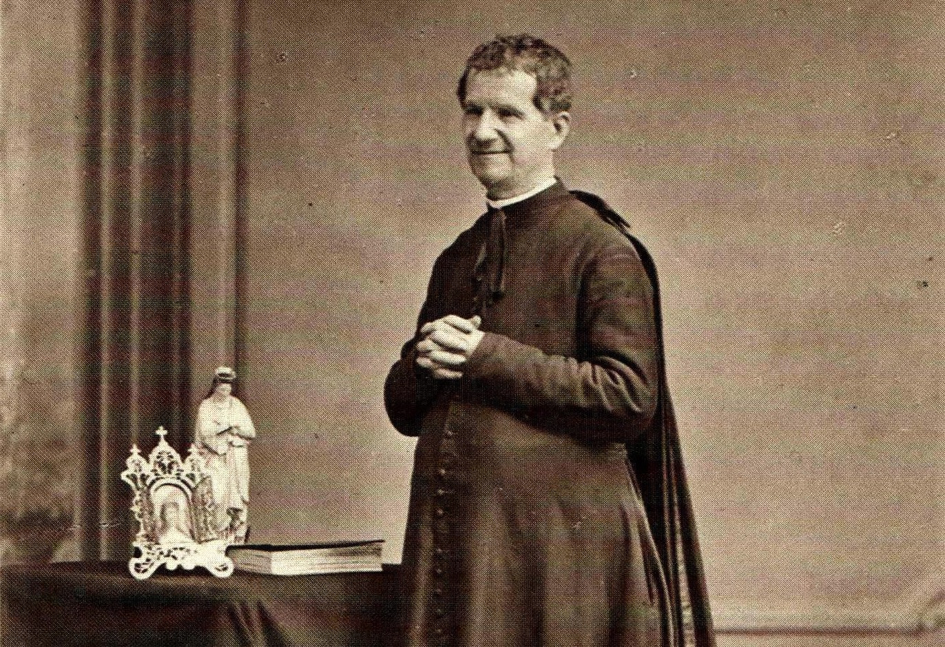 San Domenico Savio appare a Don Bosco:
