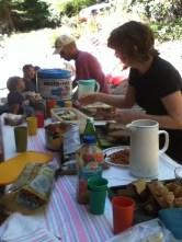 Feeding the Hungry Crew