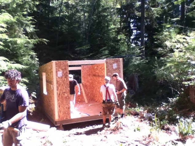 Two shelters raised in one Weekend: Good Work!