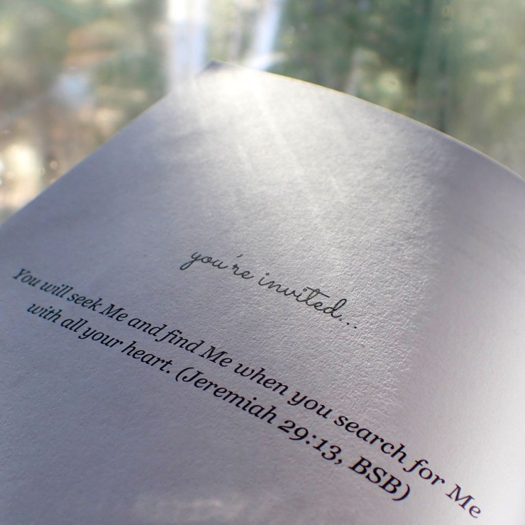 This photo shows an excerpt from the faith-and-outreach book What Really Matters at RivenJoiner.com.