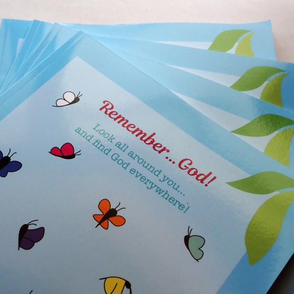 Remember...God! is a children's book about looking all around you and finding God everywhere.