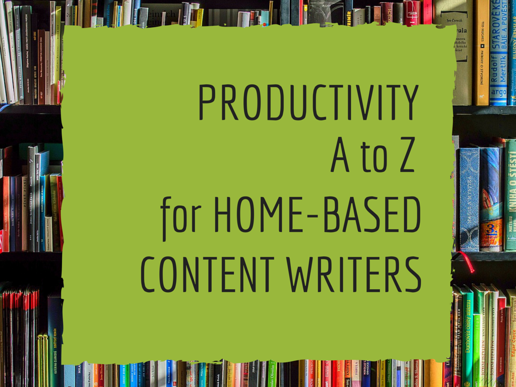 PRODUCTIVITY A to Z