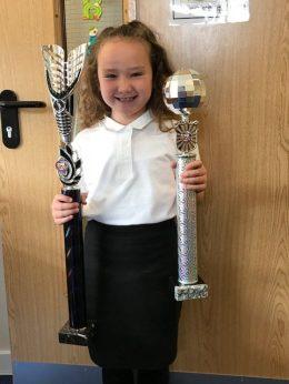 Our award winning dancer.