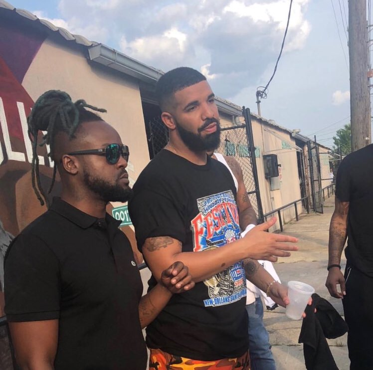 Drake in New Orleans