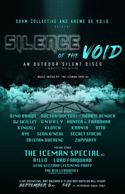 Silence of the Void by Dohm Collective and Krewe de VOID