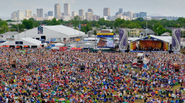 Jazz Fest Releases 50th Anniversary Lineup: The Rolling Stones, Katy Perry, Dave Matthews Band & More