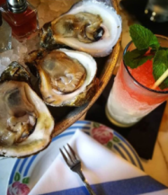 Happy Hour Oysters at Seaworthy