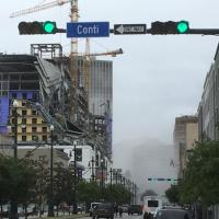 BREAKING: Hard Rock Hotel In Downtown New Orleans Collapses