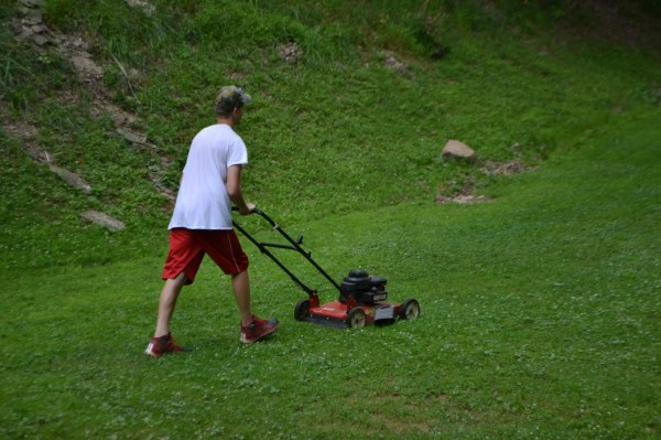 Case the Mower Man