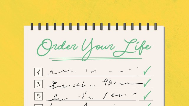 Sermon Series Order Your Life