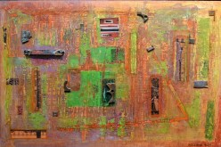 Assemblage/Collage by Janae Holland