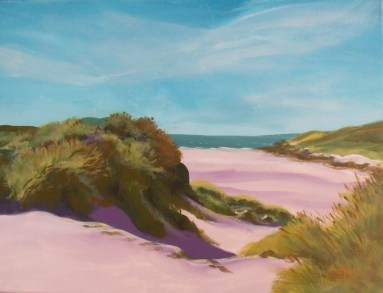 The Dunes by Dian Der Ohanian Phillips