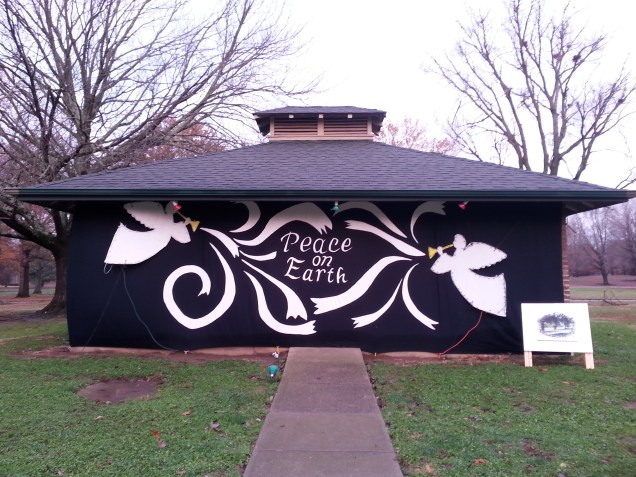 RCAA members complete Christmas in the Park shelter in Deming Park