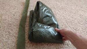 Step 6 folding backpacking tent B