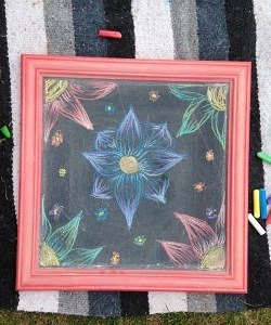 Blackboard Art at the Fair