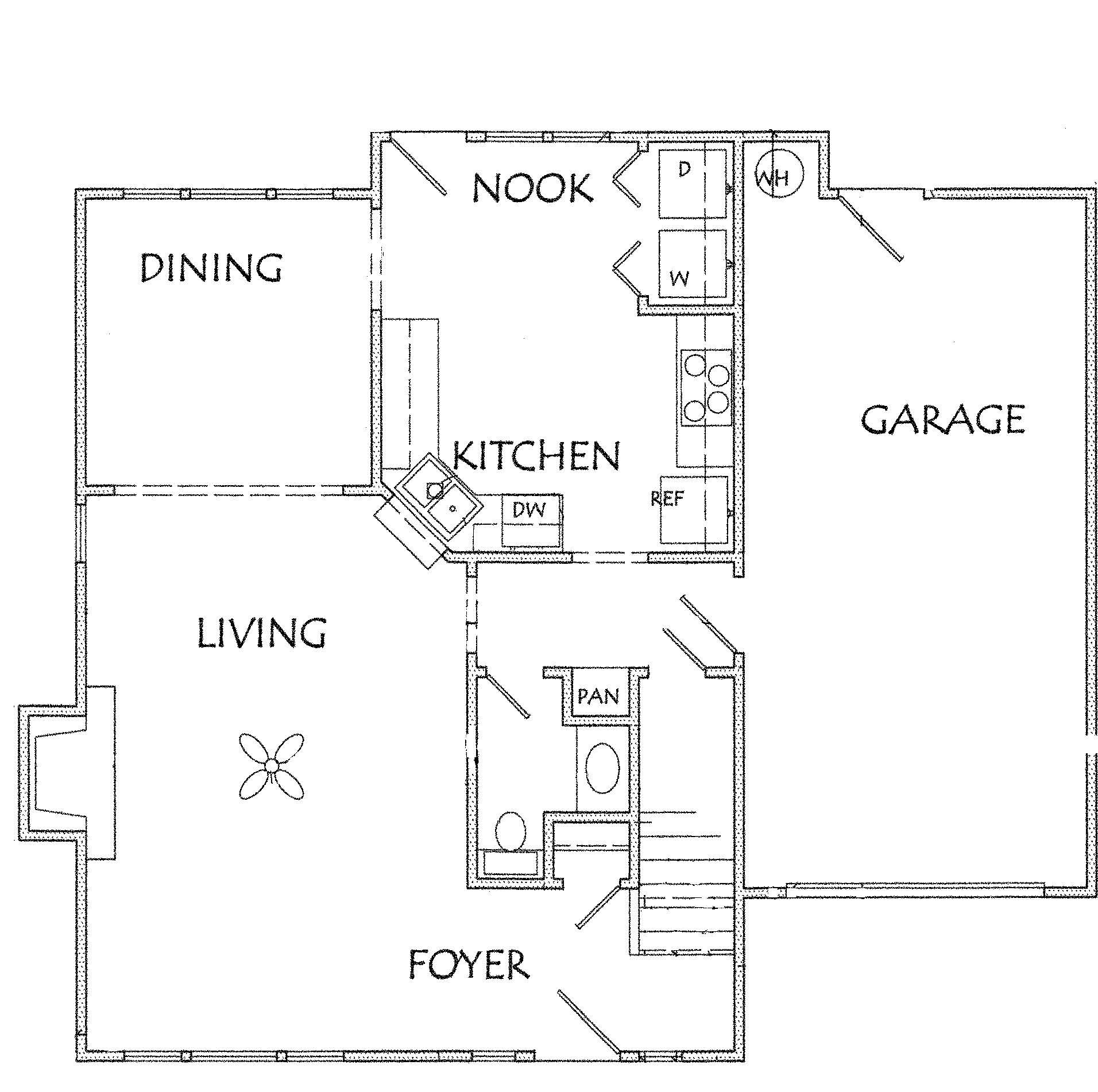 3 Bedroom 2 5 Bath 1 Car Garage Sf