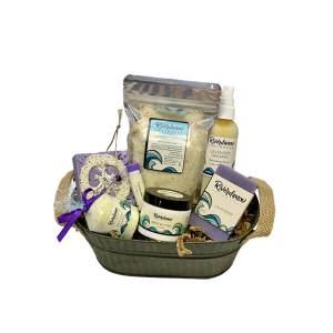 Product image for lavender lovers spa gift basket