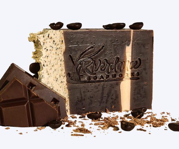 5 AM Mocha coffee butter soap image