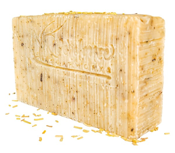 rosemary scrub soap side image
