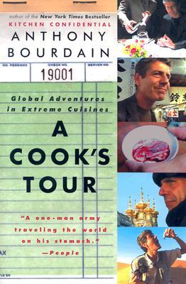 A Cooks Tour by Anthony Bourdain cover