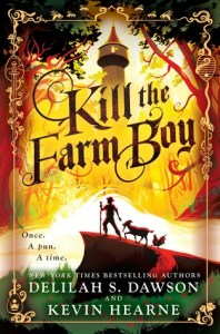 Kill the Farm Boy book cover