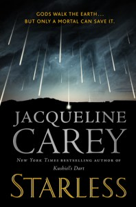 Starless by Jacqueline Carey book cover