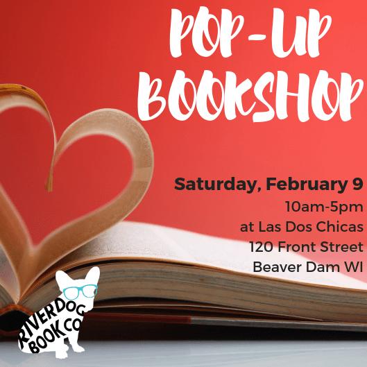 Feb 9 Pop-up Bookshop at Las Dos Chicas