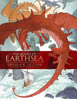 The Books of Earthsea Illustrated Collection by Ursula K. Le Guin