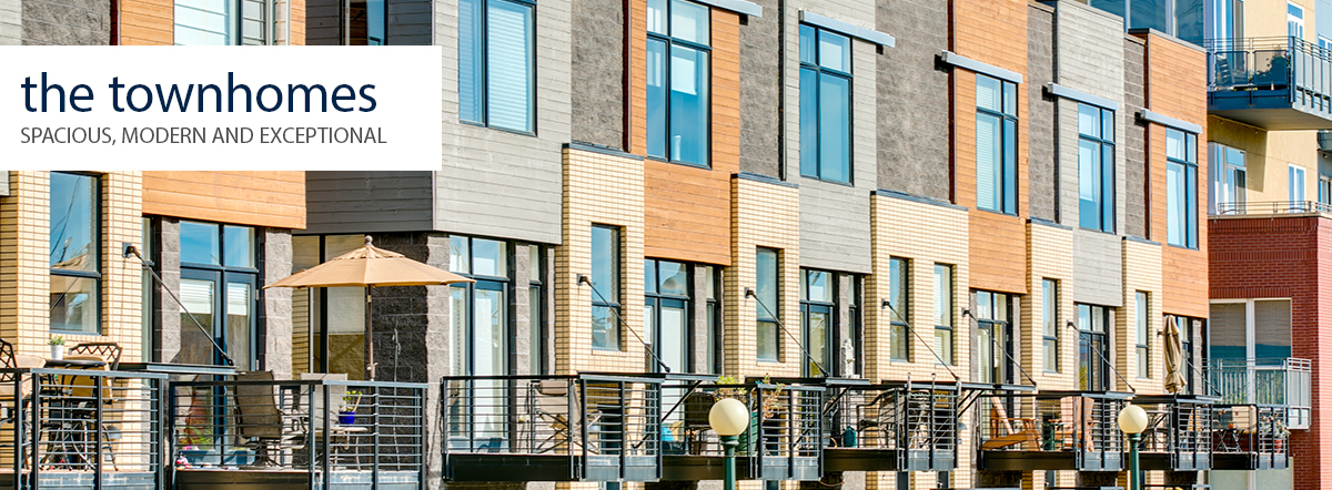 The Townhomes in Riverfront Park