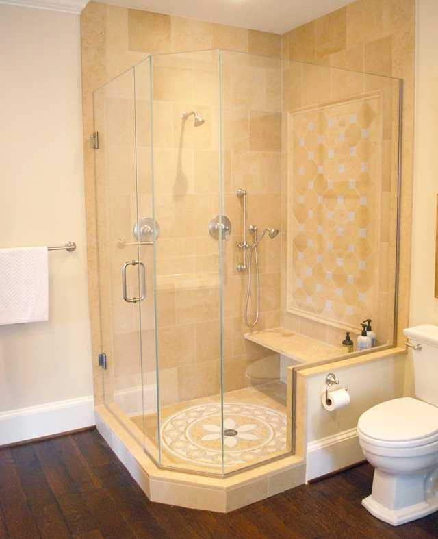 Bathroom Shower Design for Awkward Spaces in MD, DC, VA on Small:e_D8Ihxdoce= Restroom Ideas  id=20125