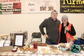 Roman and Izabella Piltzer of Pipini Breads: gluten-free, vegan, organic baked goods.