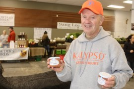 Gus Trastelis, of Kalypso Greek Yogurt, based in Pennsylvania.