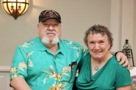 Harry and Louise Wilkinson, charter members of Riverhead Kiwanis.