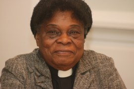 The Rev. Mary Cooper, 30-year pastor at House of Praise
