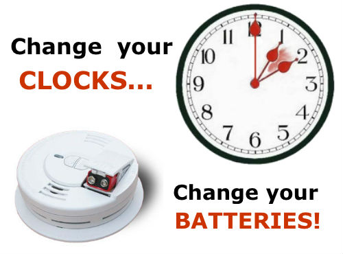 Remember Change Your Clocks Change Your Batteries Riverheadlocal