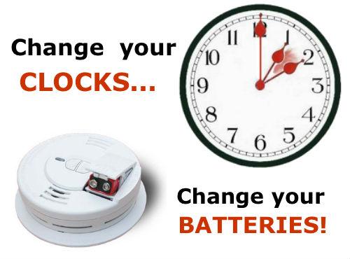 Remember Change Your Clocks Change Your Batteries Riverheadlocal