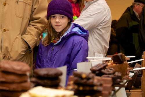 There was something for everyone at the Riverhead Farmers Market (RiverheadLOCAL photo by Emil Breitenbach Jr.)