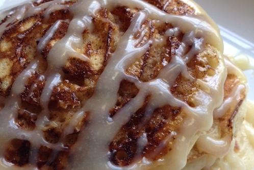 2014 0208 cinnamon bun pancakes