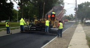 Highway crews resurfacing Osborn Avenue last summer.(File photo: Peter Blasl)