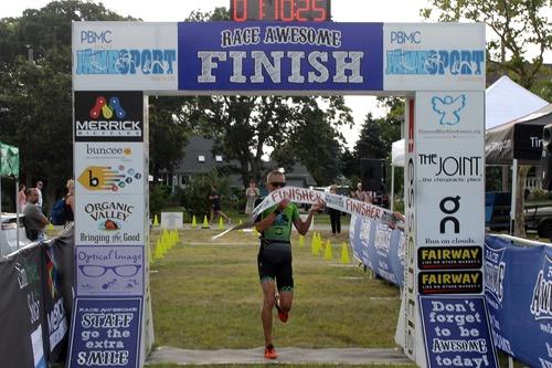 Photos: Inaugural PBMC Jamesport Triathlon