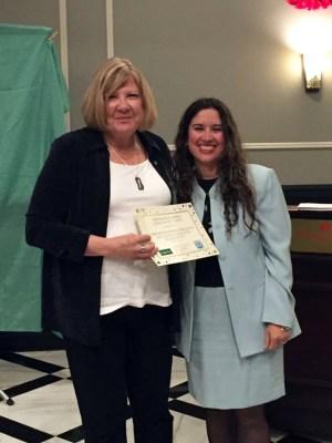 Riley Avenue Librarian / Media Specialist Amelia Estevez-Creedon – Winner of an SSLMA Award and Grant Courtesy photo