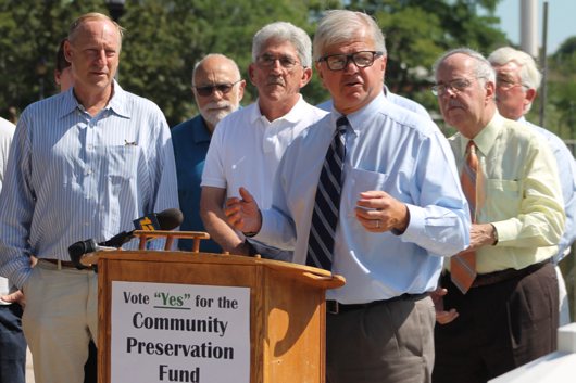 Community Preservation Fund author Fred Thiele, said the change to allow expenditure of the fund on water quality measures is needed to ' to changing times.' Photo: Denise Civiletti