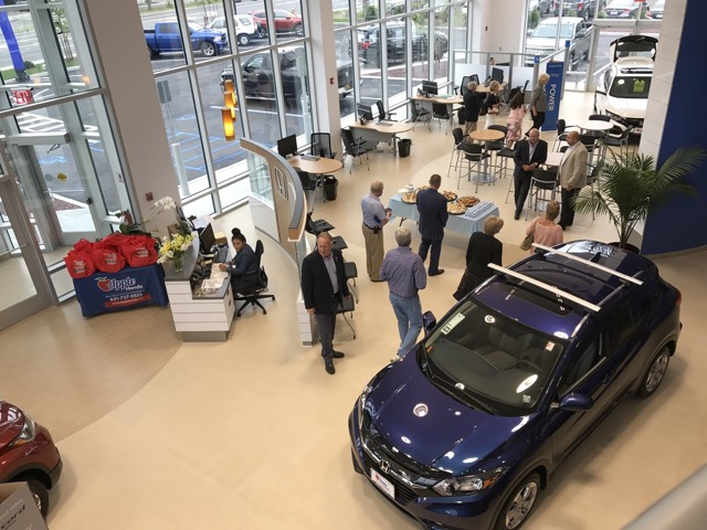 View Of The Showroom From The Second Floor. Photo: Denise Civiletti