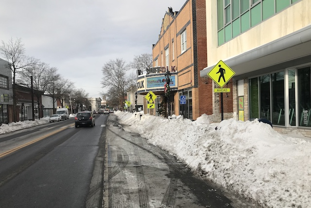 Snow ... & After the blizzard: burst pipes gas leaks and really big piles of ...