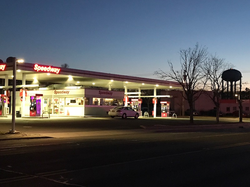 Cops search for man who robbed Route 58 gas station Saturday night